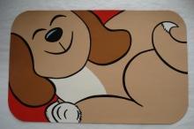 Handpainted Dog Mat