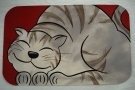 Handpainted Cat Mat