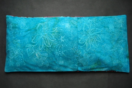 Back of Handmade Heating Pad