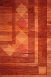 Painted Floor Detail